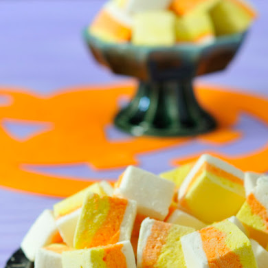 DIY Candycorn Marshmallows Recipe
