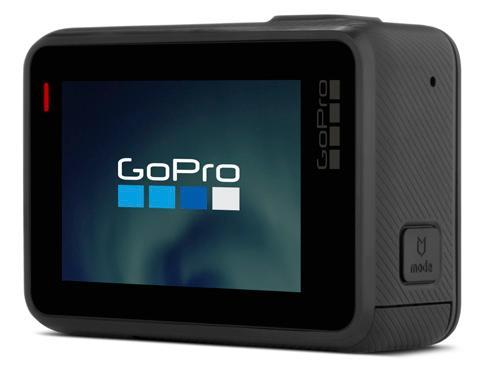 GoPro Hero, вид сзади