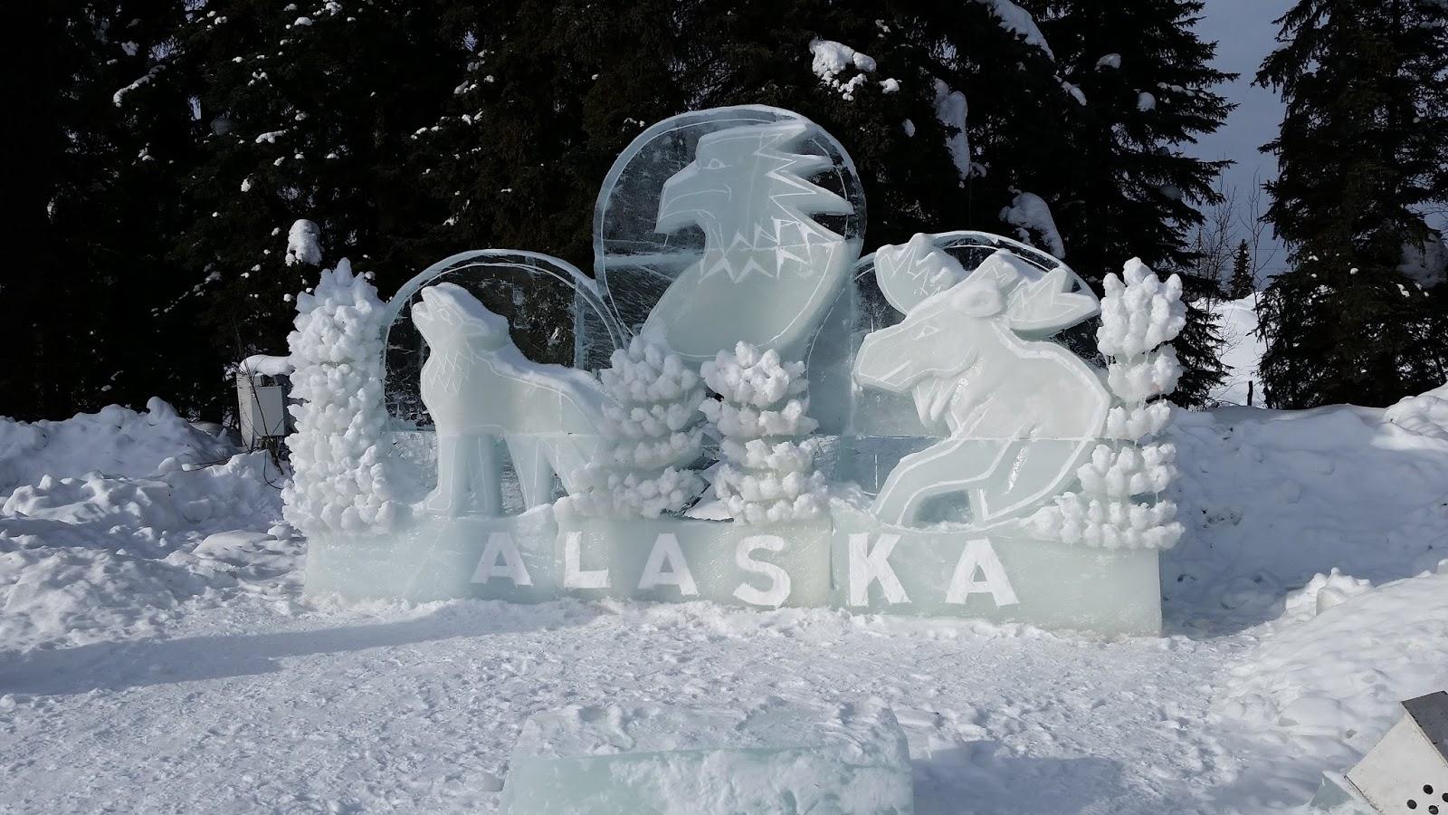 beth carpenter books ice scupltures in fairbanks