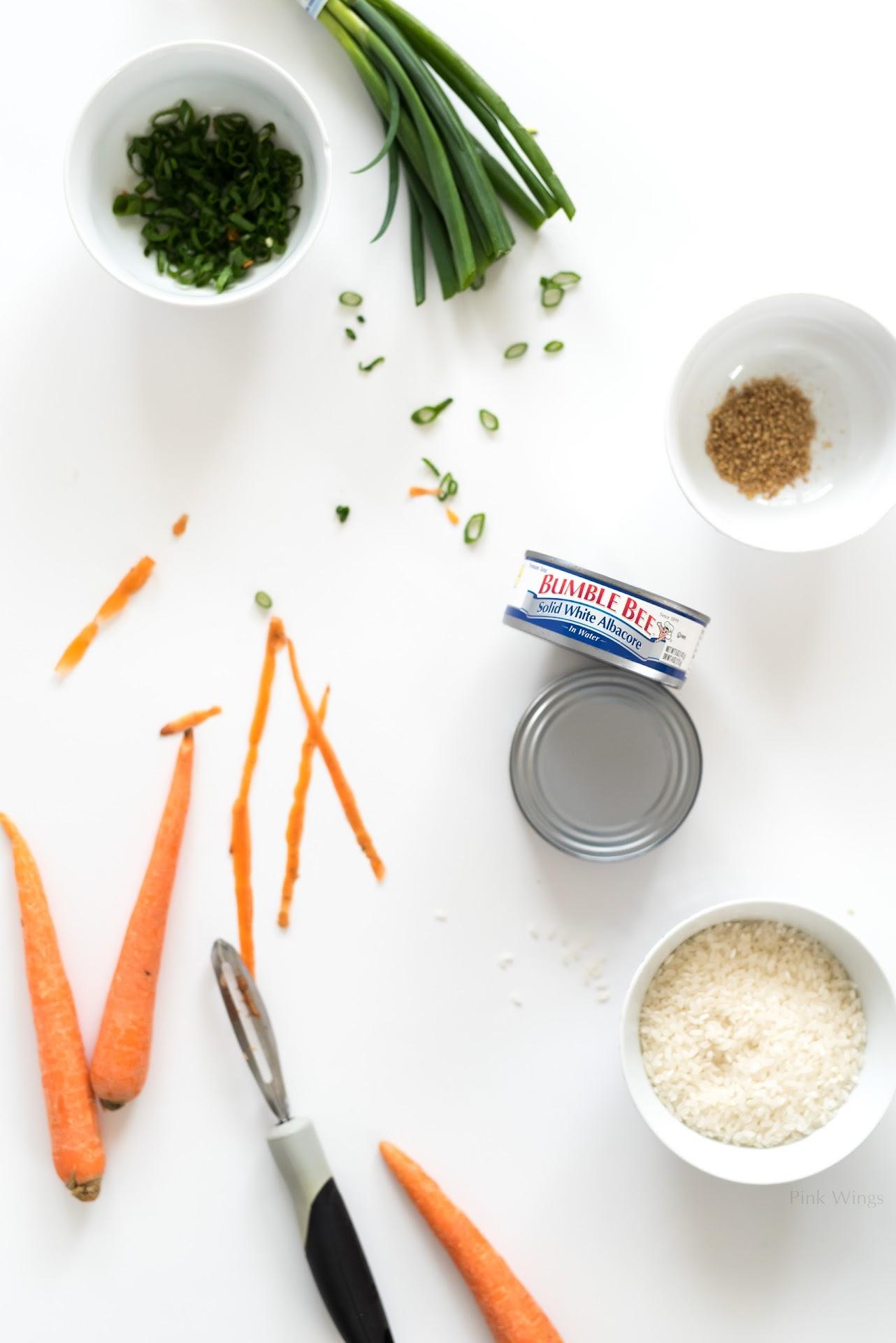 Bumble Bee Solid white albacore, albacore vs chunk light tuna, best canned tuna, tuna recipes, unique tuna recipe, Asian food blog, Korean food