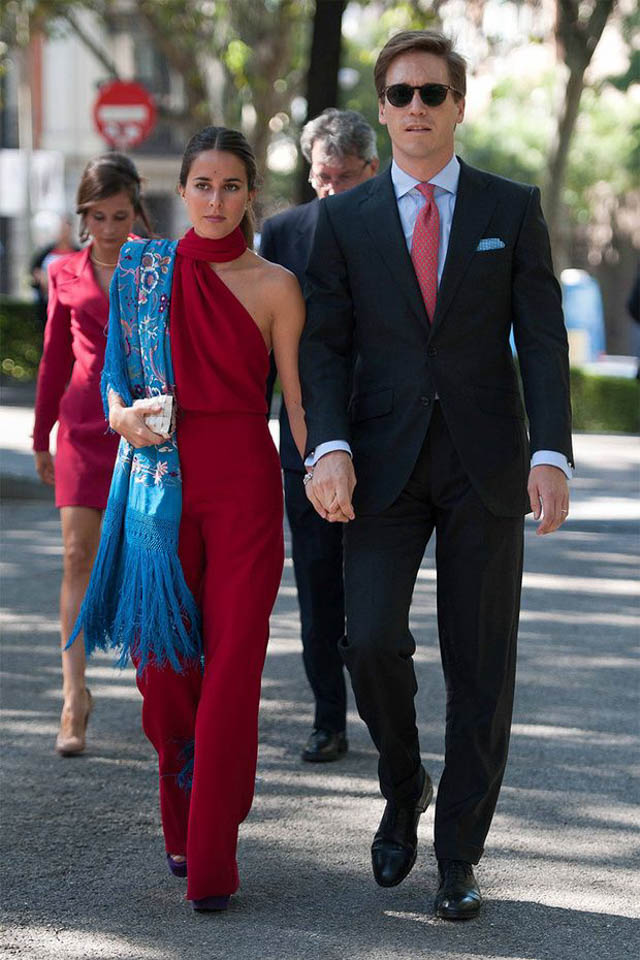 manton manila mantones invitada boda fiesta look vestido