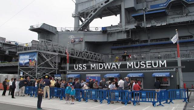Museu USS Midway em San Diego