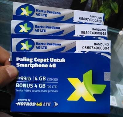 Cara Mudah Upgrade Kartu XL ke Jaringan 4G