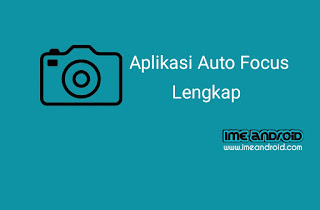 Auto fokus kamera
