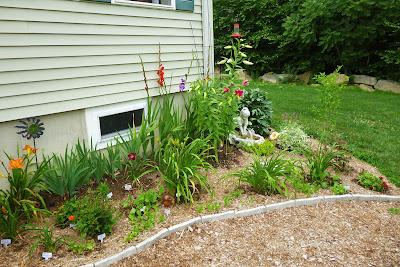 Easy perennial garden
