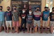 Polisi Gulung Delapan Sindikat Pencuri Kabel PLN di Simalungun