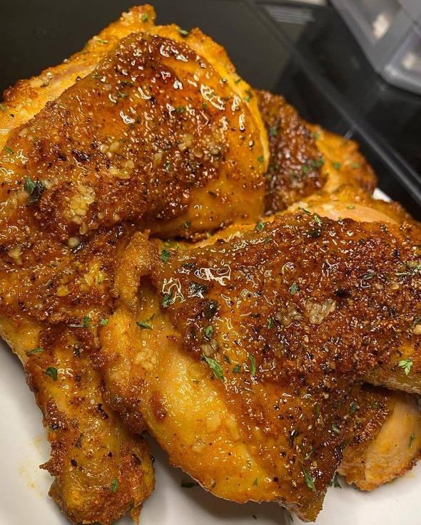 Extra crispy Honey Baked Chicken