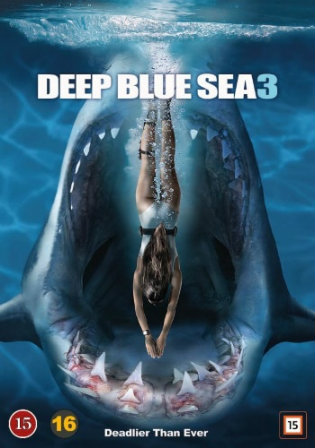Deep Blue Sea 3 2020 HDRip 800Mb English 720p ESub
