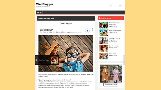 Blogger Yayınlar Arası Resimli Sabit Geçiş Navigasyonu