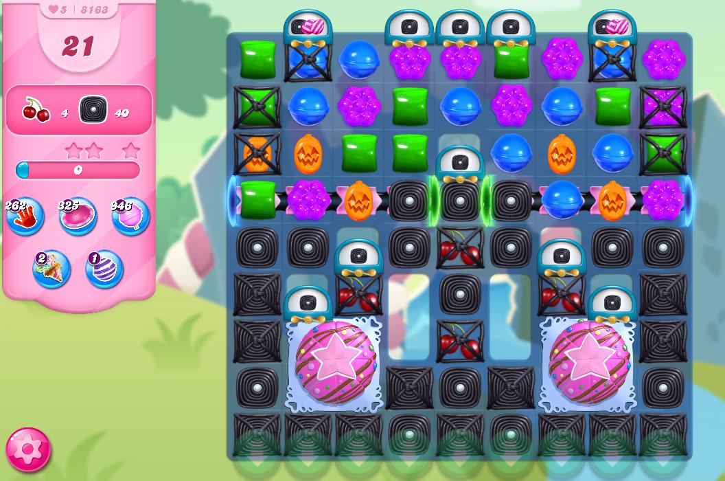 Candy Crush Saga level 8163