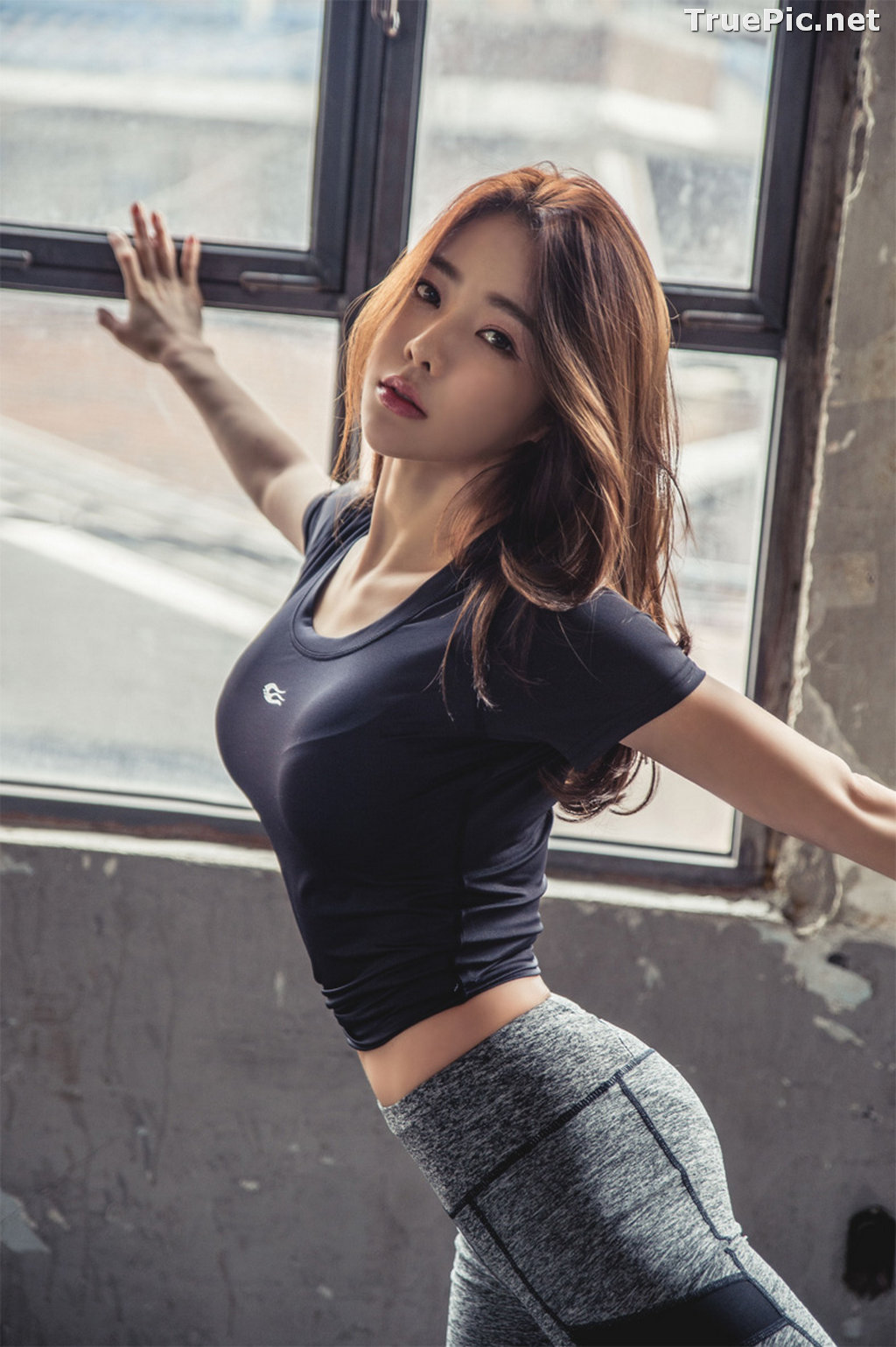 Image Korean Beautiful Model – An Seo Rin – Fitness Fashion Photography #2 - TruePic.net - Picture-8