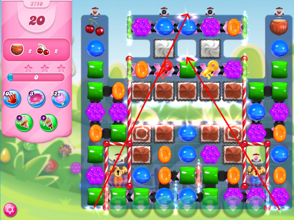 Candy Crush Saga level 3750