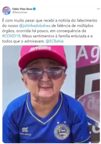 Ícone do WhatsApp, Jotinha morre após diagnóstico de Covid-19  -   Adamantina Notìcias