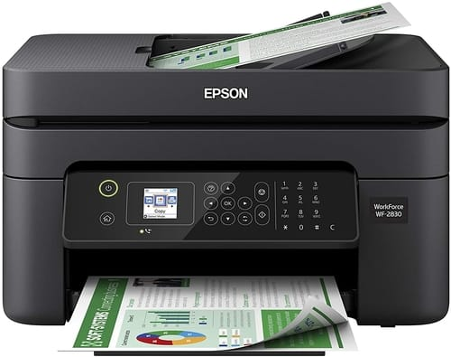 Review Epson Workforce WF-2830 WiFi Color Printer