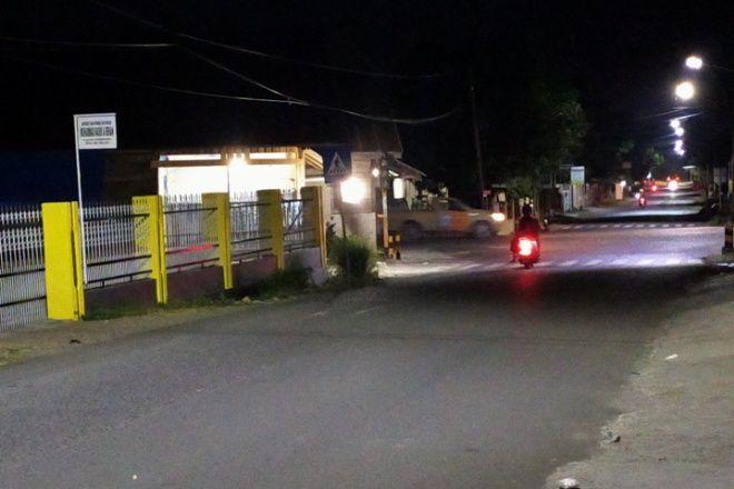 Tak Menyala, Lampu Lalu Lintas di Tengah Kota Watampone Ancam Keselamatan Pengendara
