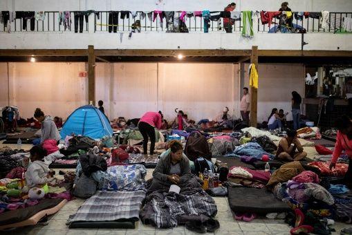 Secretaría de Salud brinda atención a migrantes centroamericanos en México
