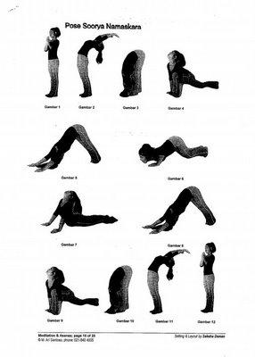 Gerakan Senam Yoga Untuk Melangsingkan Tubuh