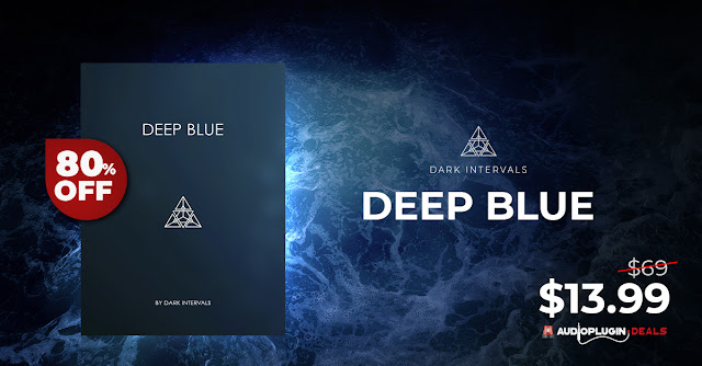 80% OFF: Deep Blue Synth Pads by Dark Intervals & PLAYTHROUGH