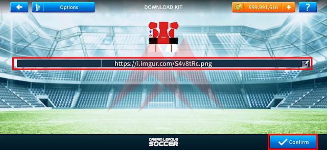 Cara Mudah Mengganti Jersey Kit DLS (Dream League Soccer)