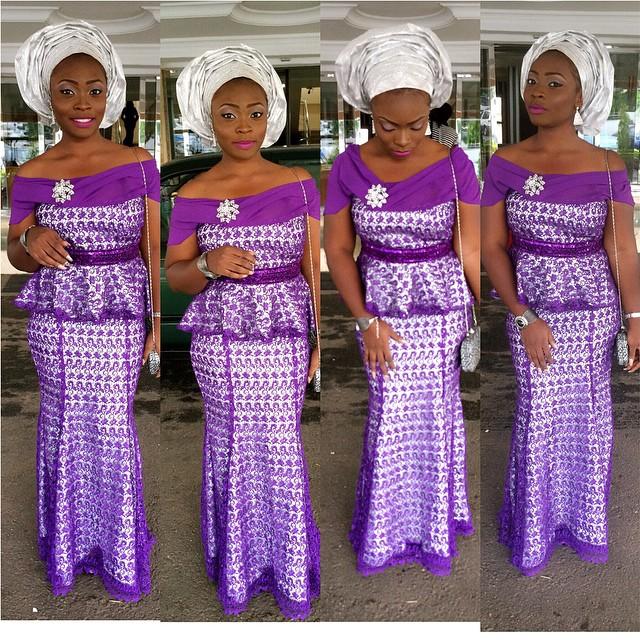 Nigeria Aso Ebi Fashion Styles