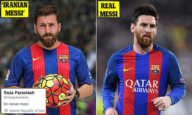 Self-styled 'Iranian Messi'