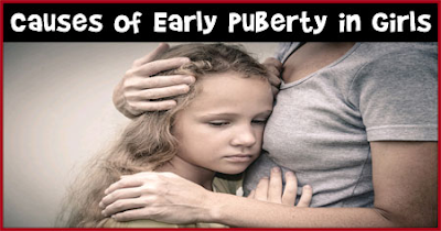 premature puberty in a girl