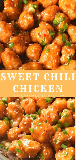 best and easy sweet chili chicken