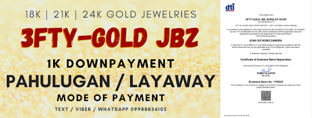 Online Interview Series Part 3: 3ftygold JBZ, a home-based online jewelry business