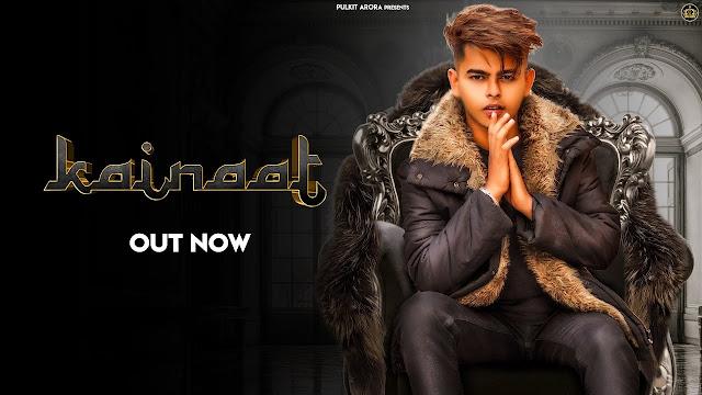 Kainaat Lyrics in Hindi & English | Pulkit Arora | Latest Haryanvi Song 2020