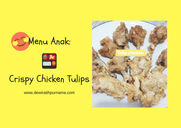 crispy chicken tulips