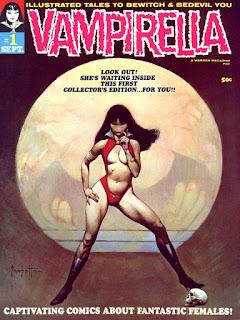 Vampirella es una pelicula basada en el comic del mismo nombre