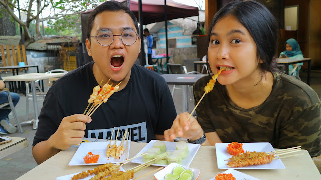 Sataychan piridifoodies food blogger malang
