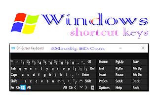 আসুন জেনে নেই Shortcut Keys for Computer এবং সংগ্রহ করে রাখি।