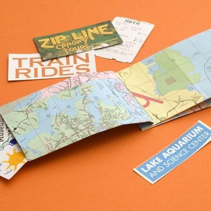 Map-Envelope Book