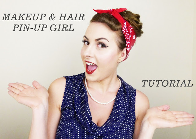 1940's / 50's Quick PIN-UP MAKEUP & HAIR