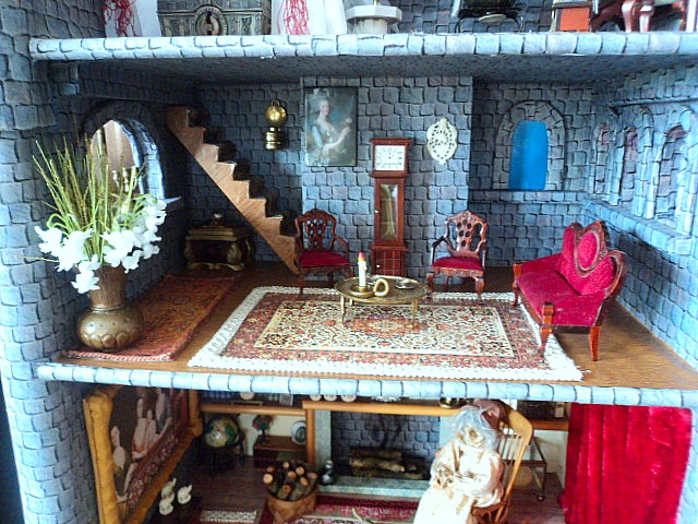 Homemade Obsessions Dresser Turned Into Dollhouse Castle