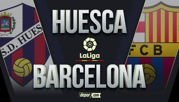 Barcelona vs. Huesca EN VIVO: con Messi por LaLiga