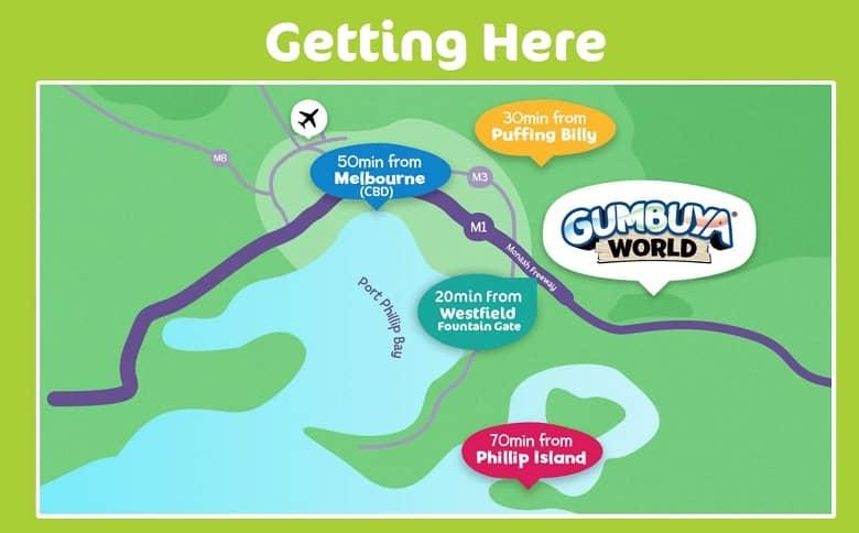Gumbuya World map