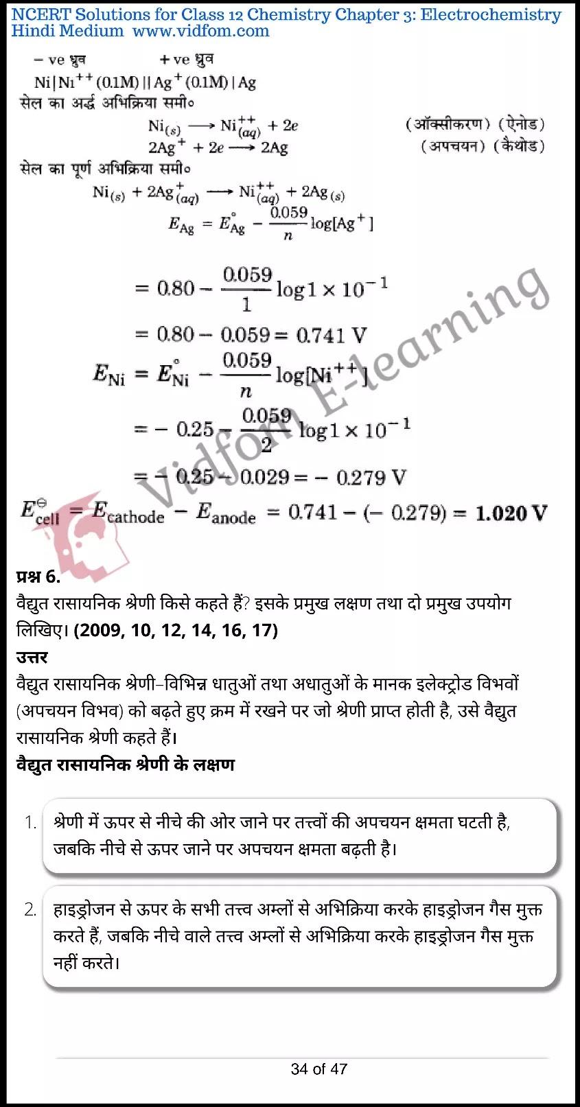 class 12 chemistry chapter 3 light hindi medium 34