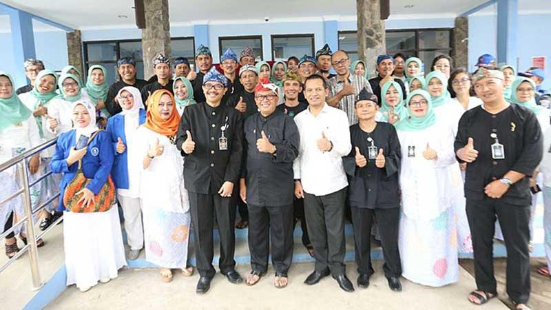 Wakil Wali kota Bandung Resmikan Kantor Baru DISDAGIN