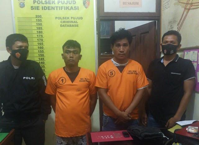 Dua Lokasi Berbeda Dengan Kesigapan Polsek Pujud Berhasil Ciduk Dua Orang Warga Tanjung Medan