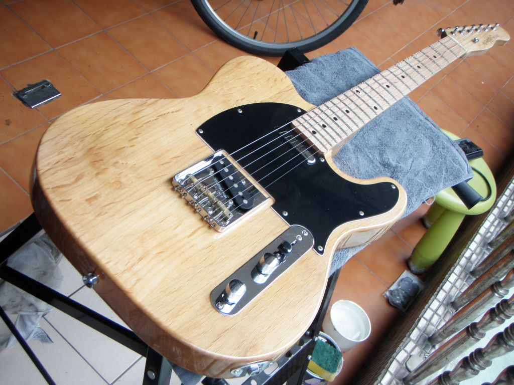 Making A Telecaster Out Of Parts Also Known As A Tele