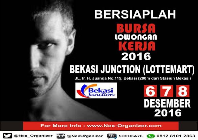 Job fair Bekasi Junction Bursa Lowongan Kerja 2016