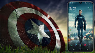 Download Captain America Theme On Samsung Pie ( 9.0 ) No root