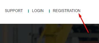 Регистрация в GsOil