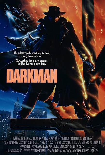 Póster película Darkman