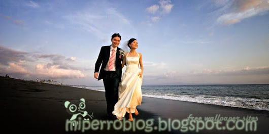 Prewedding - beach HD image 1 - Free wallpaper sites