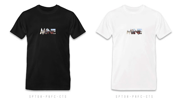 SPT08-P6FC-CTS Memorable Photo & Text T Shirt Design, Custom T Shirt Printing