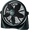 Avalon Adjustable Table Fan or Floor Fan - 16 Inch - 360 Degree Vertical Tilt, Durable & Lightweight, 3 Energy Efficient Fan Speeds -UL Approved, Black
