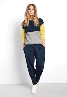 Hush Colourblock Jumper - Reading, Writing, Booking